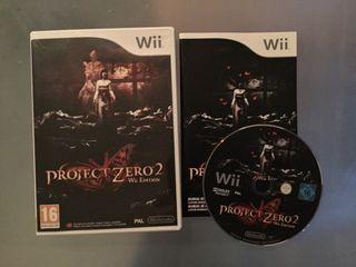 Proyect Zero 2 para Wii