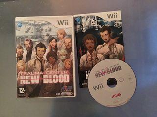 Trauma Center New Blood para Wii