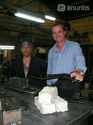prensa para reciclar papel en briquetas