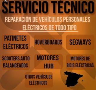 Servicio técnico patinete eléctrico