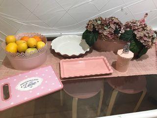Complementos cocina color Rosa