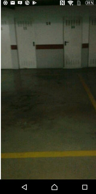plaza garage abierta con trastero cerrado