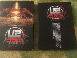 U2 360 at the Rose Bowl 2 CD's