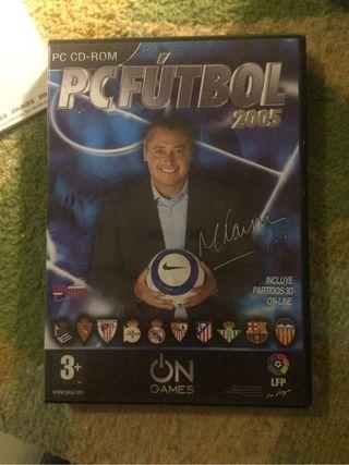 Manager futbol Pc Futbol 2005