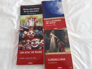 libros de lectura 4° de ESO