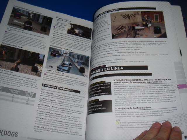 Guia oficial WATCH DOGS buen estado 650 paginas