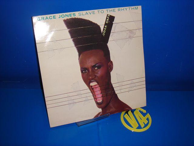 LP Grace Jones -Slave To The Rhythm -1985-uk