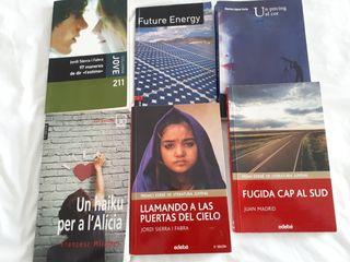 libros de lectura 3° de ESO