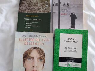 libros de lectura 1° de Bachiller