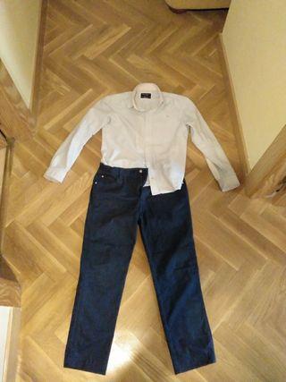 Pantalón y camisa Hackett