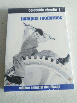 2dvd Tiempos Modernos de Charles Chaplin. NUEVO segunda mano  España