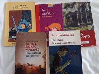libros de lectura 2° de ESO