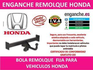 ENGANCHE HONDA BOLA REMOLQUE