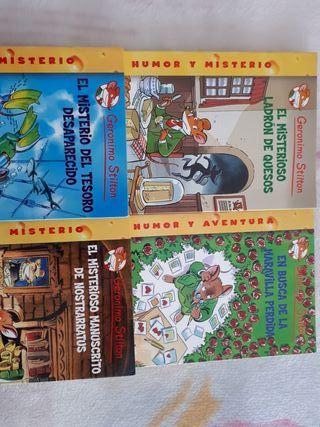 libros Geronimo Stilton. no me desplazo