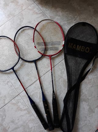 Raquetas badminton