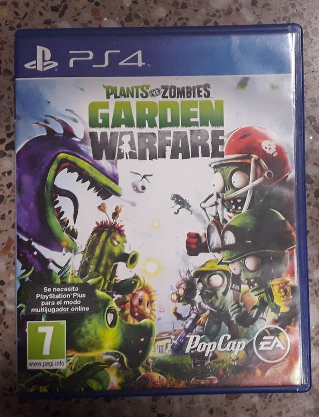 Juego Ps4 Plants Vs Zombies Garden Warfare De Segunda Mano Por 15