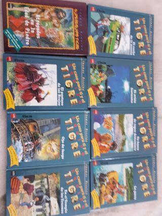"""8 libros """"equipo tigre"""""""