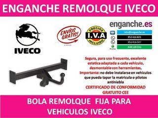 ENGANCHE IVECO BOLA REMOLQUE