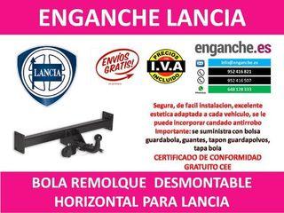 ENGANCHE LANCIA BOLA REMOLQUE
