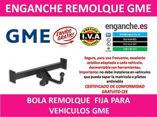 ENGANCHE GME BOLA REMOLQUE