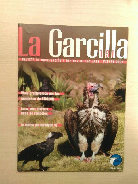 Libro revista la Garcilla. 131.