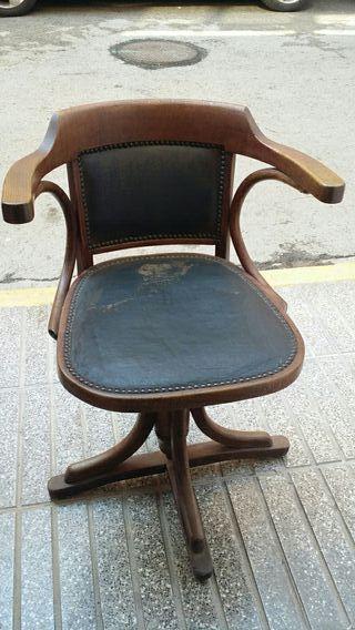 Sillas de oficina vintage de segunda mano en wallapop for Sillas vintage segunda mano