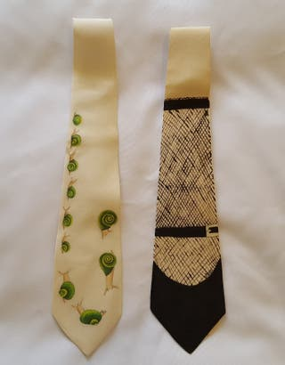 corbatas de seda natural desde 22€