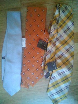Lote corbatas NUEVAS