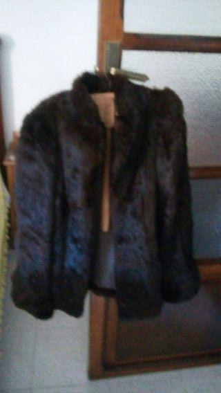 abrigo de pieles