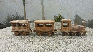 tren de maddera