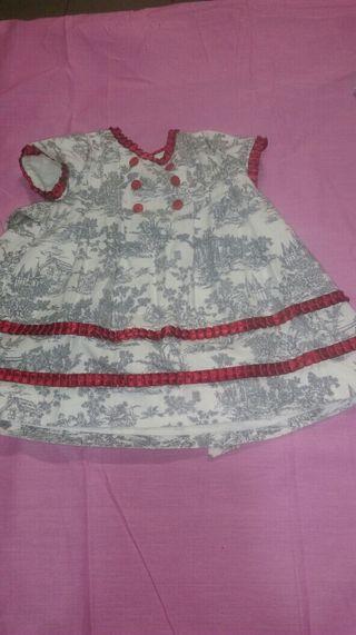 Vestido niña 9/12 meses