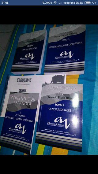 libros oposiciones policia nacional