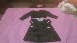 Vestido niña Rigans 9 meses