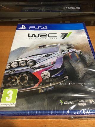 Juego PS4 WRC 7 SIN ABRIR