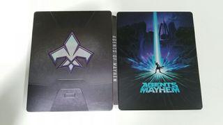 Steelbook Agents of Mayhem
