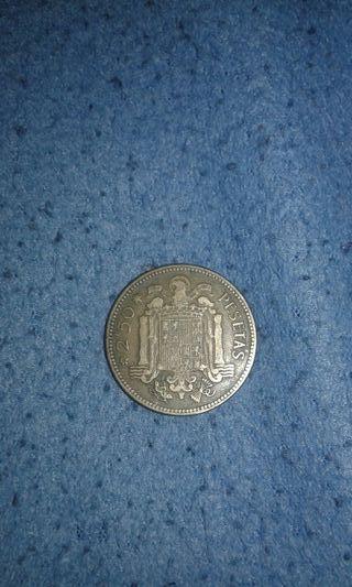 2.50 pesetas del 1953 de franco
