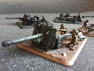 Cañones británicos FoW