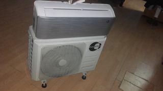 Aire acondicionado fijo, bajo consumo y flujo 3D.