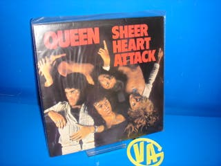 Disco vinilo LP- Queen Sheer Heart Attack -1976