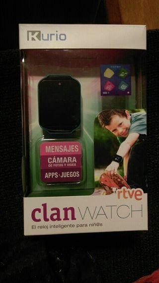 Reloj TÁCTIL niño / niña CLAN WATCH