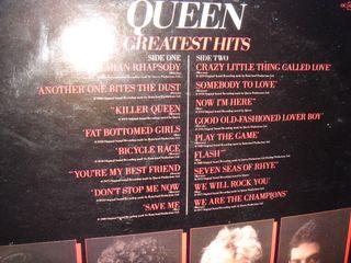 Disco vinilo LP -Queen Greatest Hits -año 1981