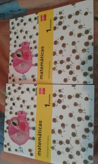 libros de primero de primaria de matematicas