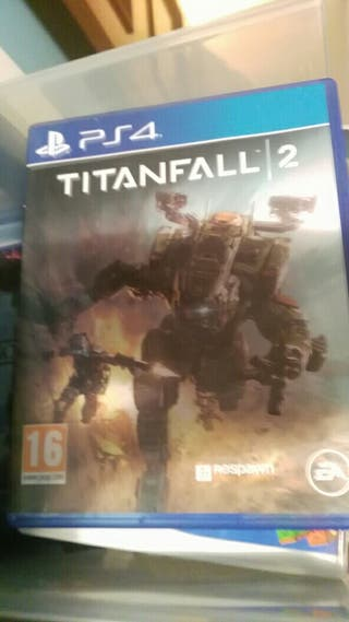 vendo juego ps4 titanfall 2