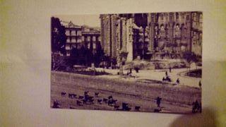 foto postal de sagrada familia año 1906