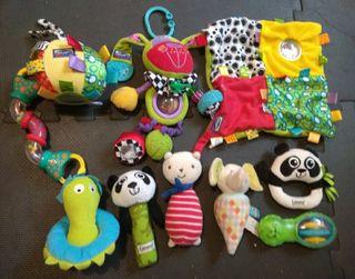 lote juguetes estimulación bebe