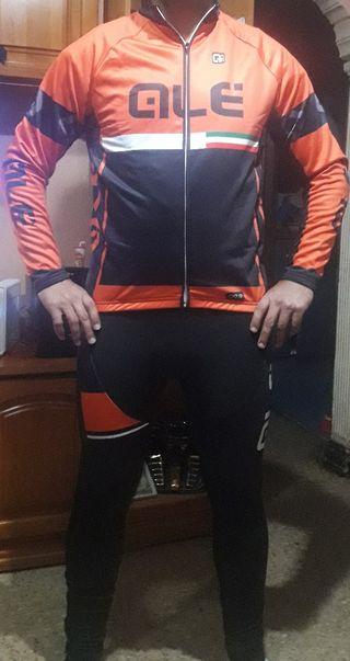 equipacion bicicleta invierno