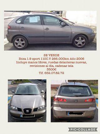 Seat Ibiza 1.9 SPORT TDI 2006