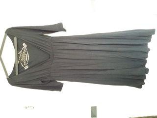 Vestigo negro corte imperio
