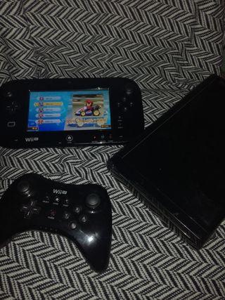 Wii U, 3 juegos de Super Mario, GamePad, Mando Pro