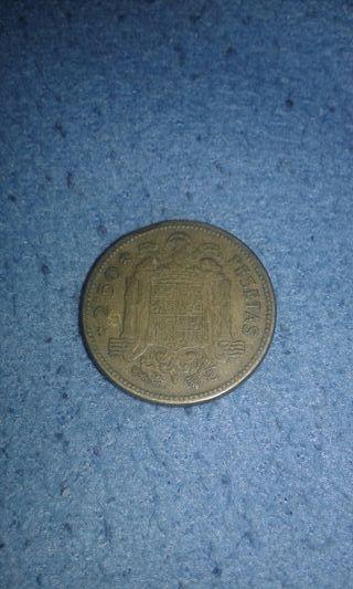 2.50 pesetas de franco 1953